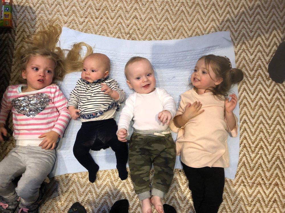 THE FOUR KIDDOS! <3