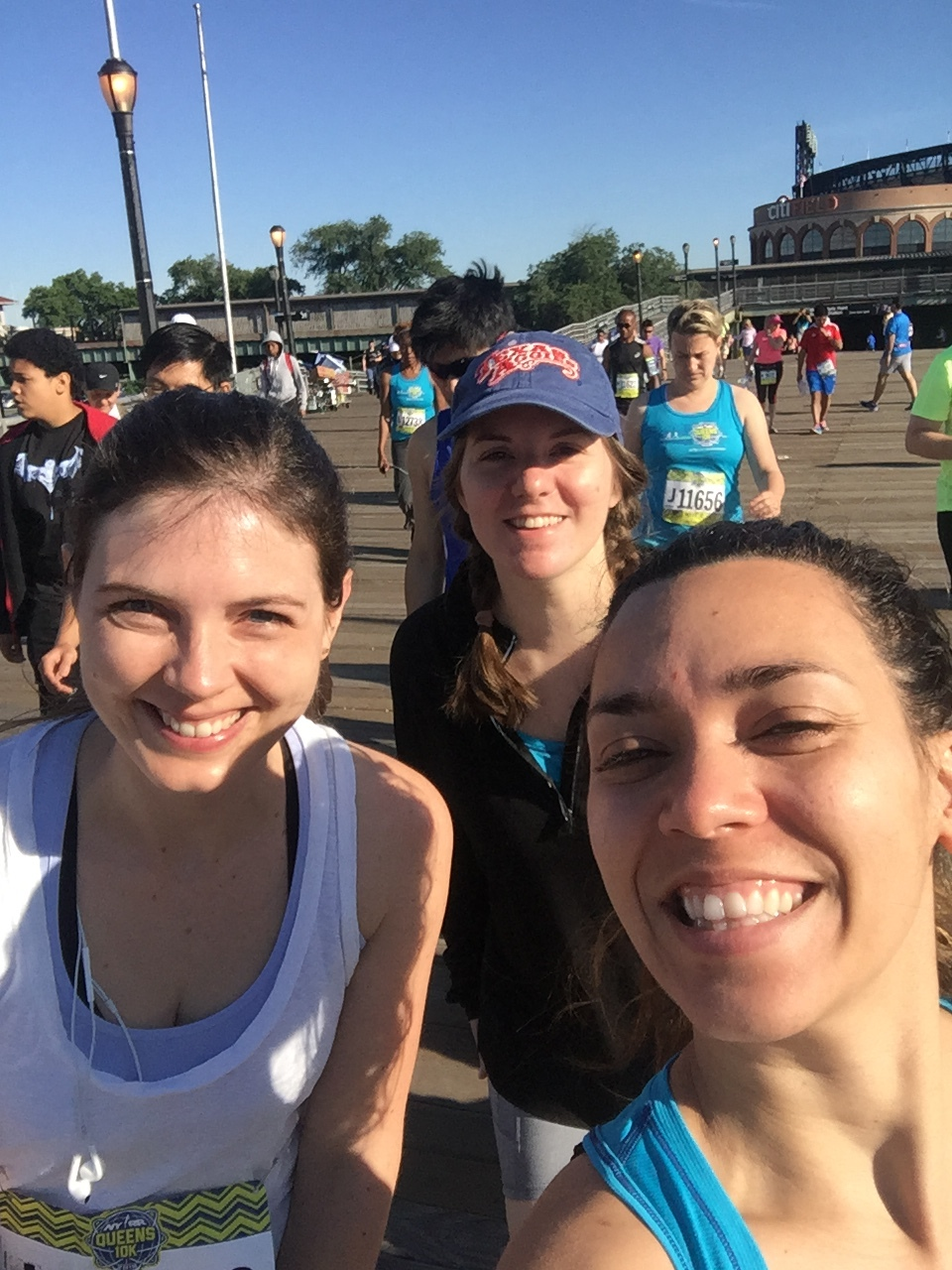 10K in Queens with Katie and Lacey!