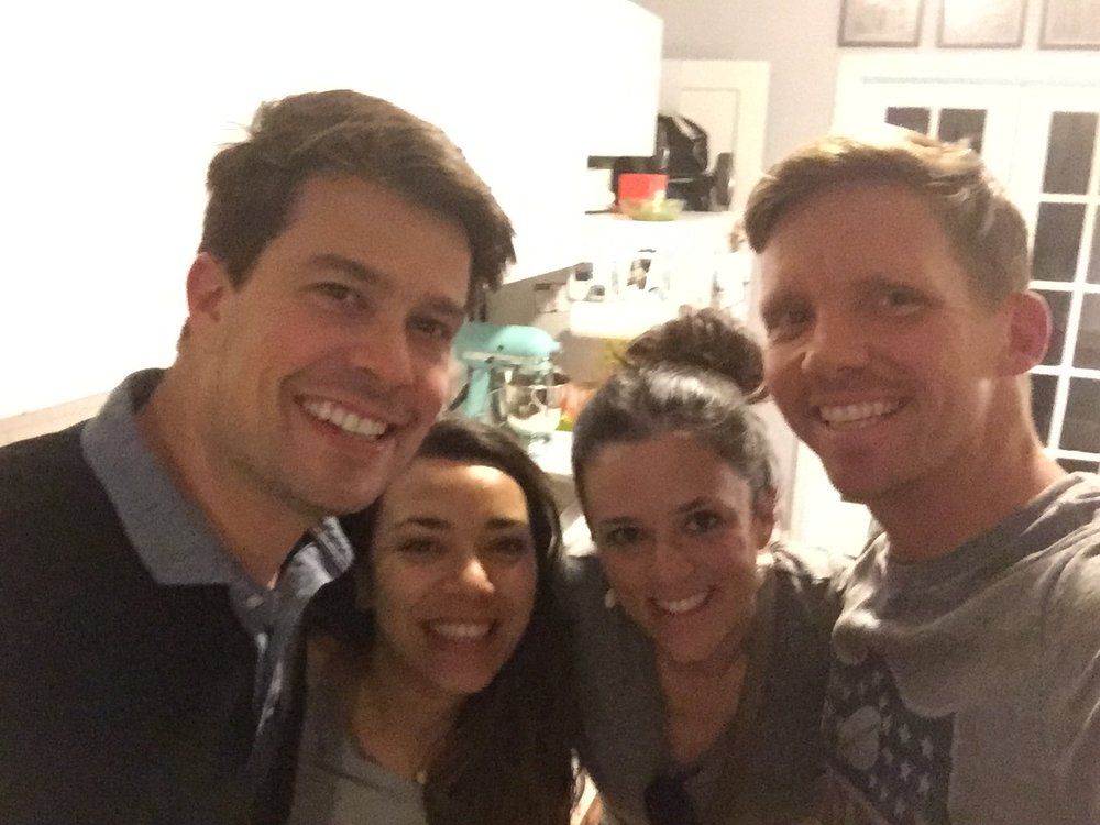 Then getting to visit with Sara and Adam, some of our first friends that we made when we moved to NYC, while they were in town. So much fun!!