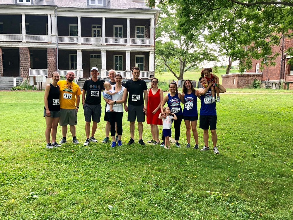 On the Fourth of July we ran a 5K on Governor's Island. The air was hot, humid and still, but we did it, and have already signed up for another one in September!