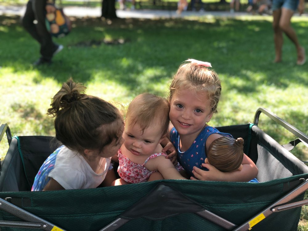 Labor Day picnic with these precious ones.