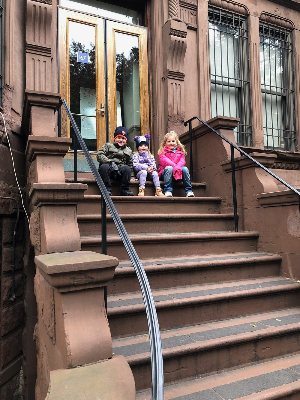 Adorable stoop pic on the UWS