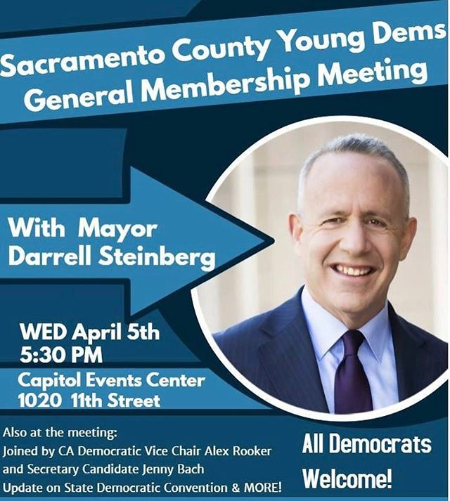 Tonight @sacyoungdems and Mayor Steinerg @capitoleventcenter  Don't forget to like and follow @capitoleventcenter this month to win a $25 giftcard from @ambrosiafinefood  #sacramento #downtownsac #meeting #youngdems