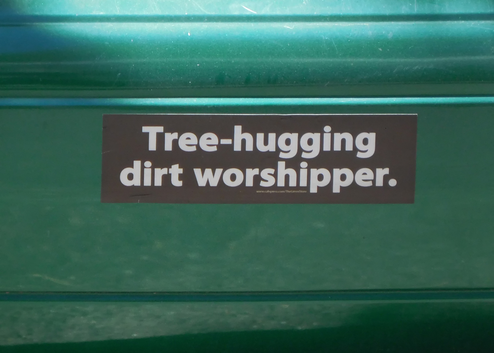 Joni found this bumper sticker.  Yeah we resemble that remark!