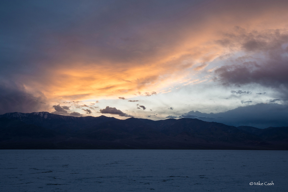 Twilight at Badwater Basin
