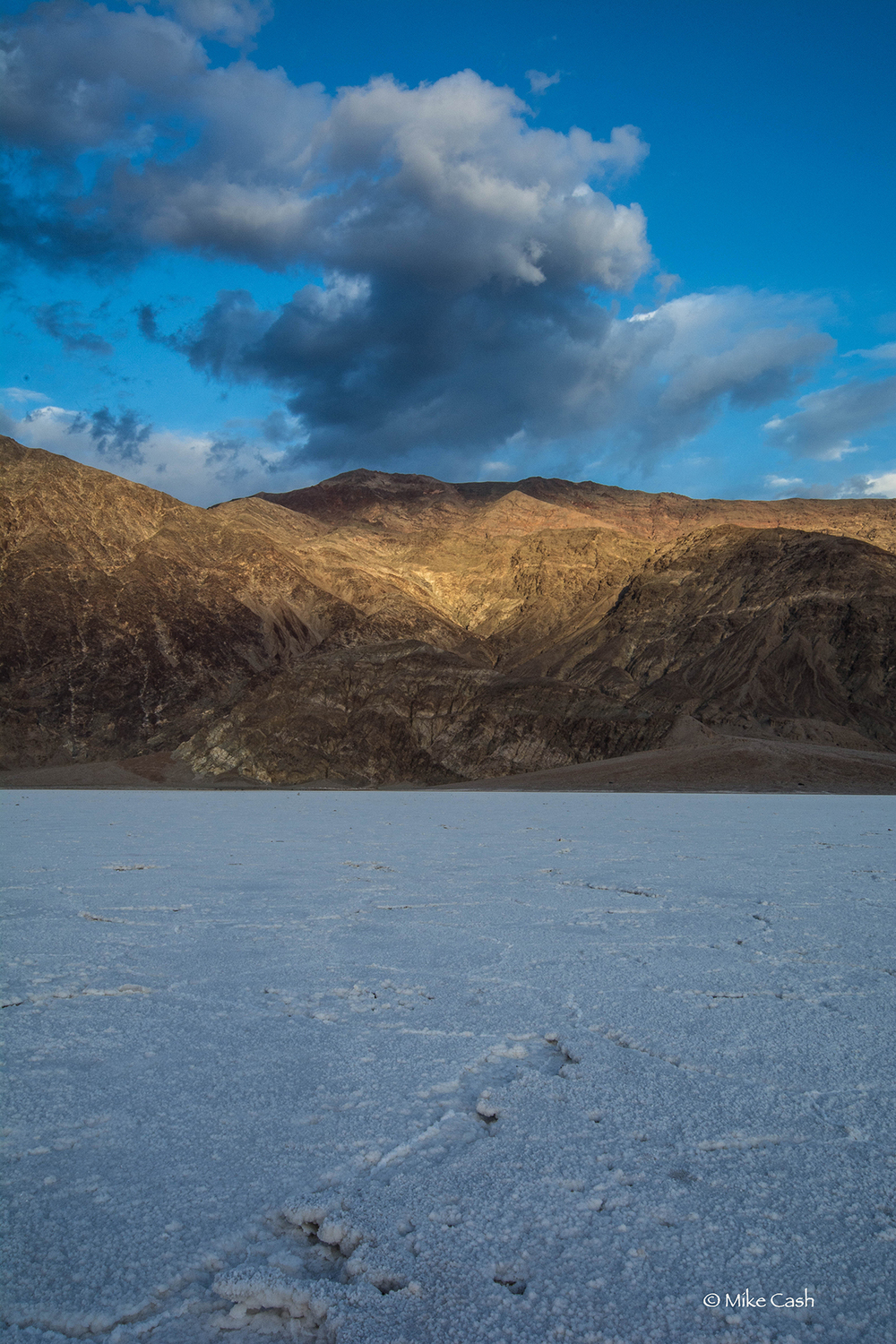 Evening at Badwater Basin