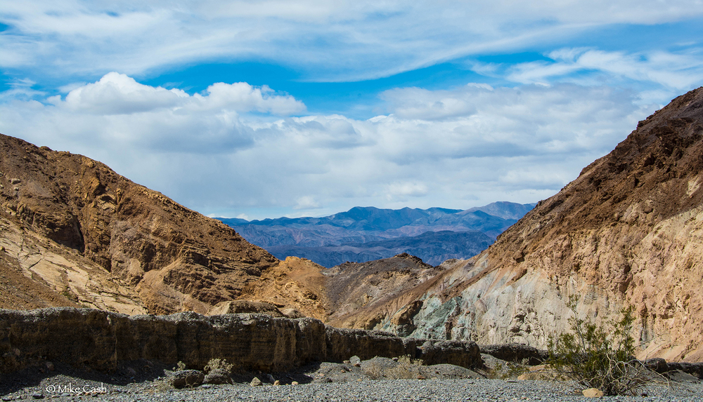 View from Mosaic Canyon