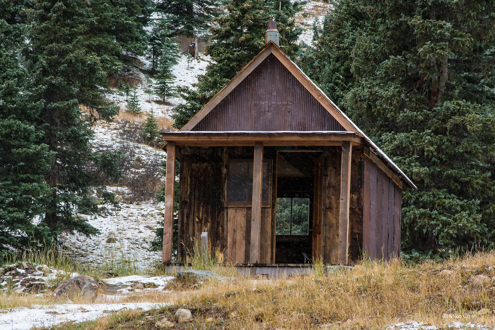 Animas Forks - one room cabin.