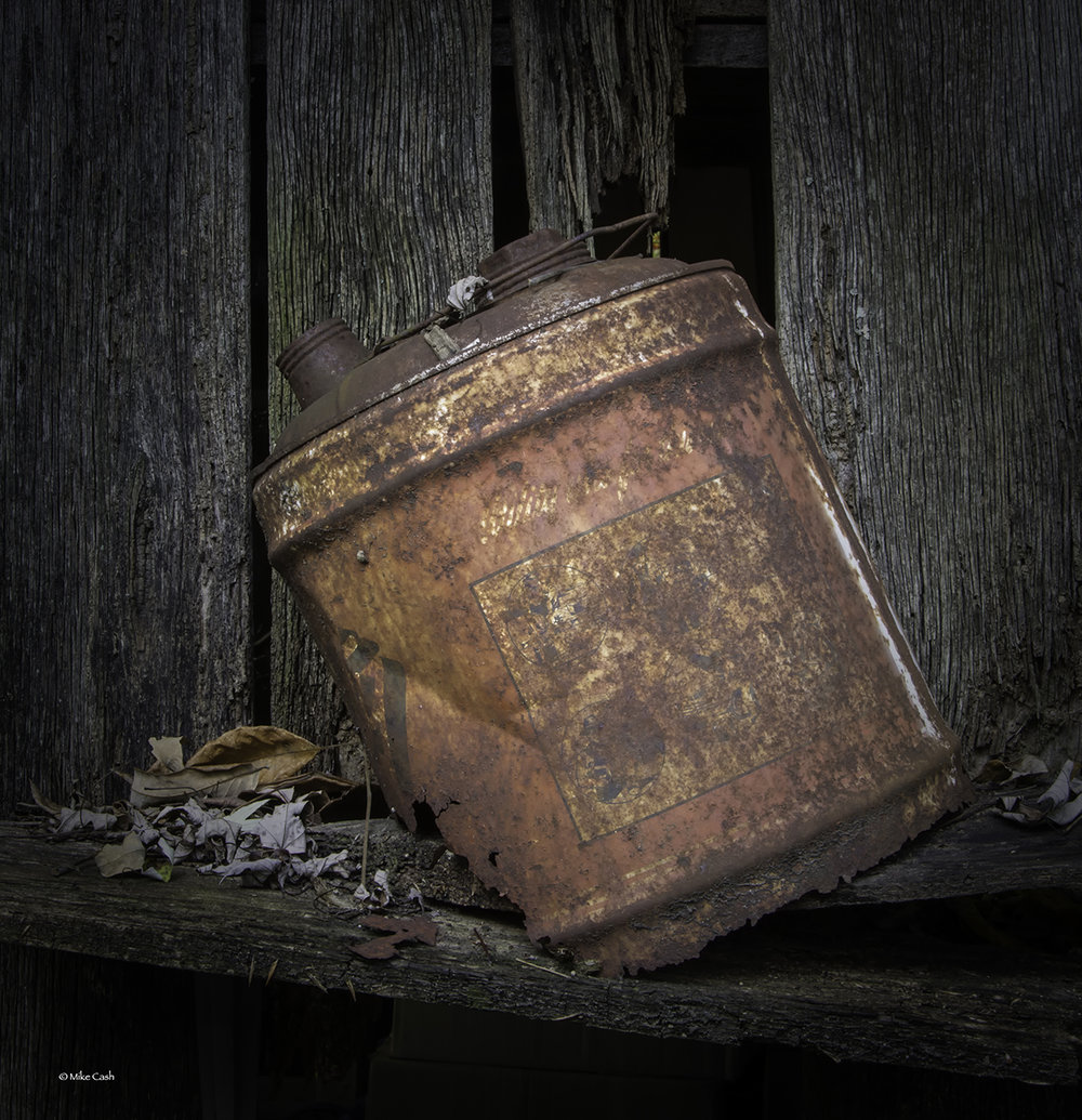 We used 5 gallon gasoline cans like this on the farm with I was a little kid.