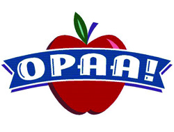 Opaa! Food Management, Inc.                We are so grateful to work in a school district served by Opaa! The Learning Garden regularly provides produce for school lunches, hosts taste tests, and will be partnering with Opaa! this year for our second annual Dine in the Dirt fundraiser!