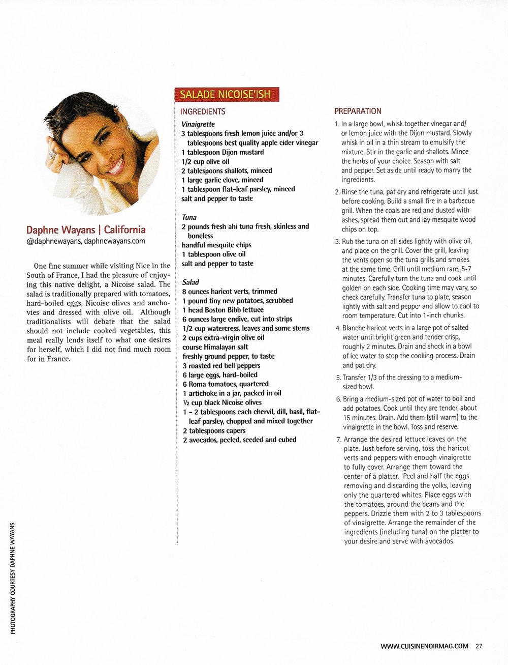 Daphne Wayans in Cuisine Noir