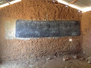 Original classroom, interior