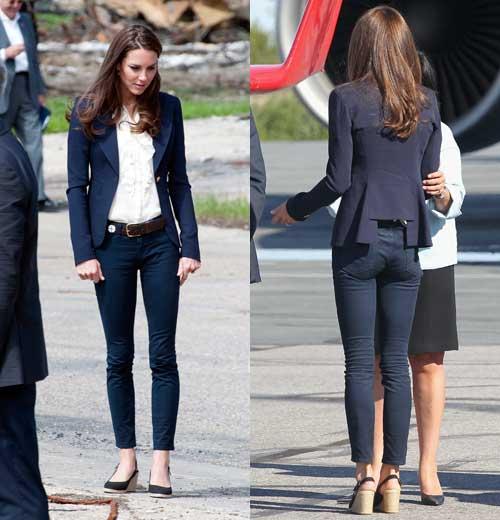 Kate in Navy Skinny Jeans