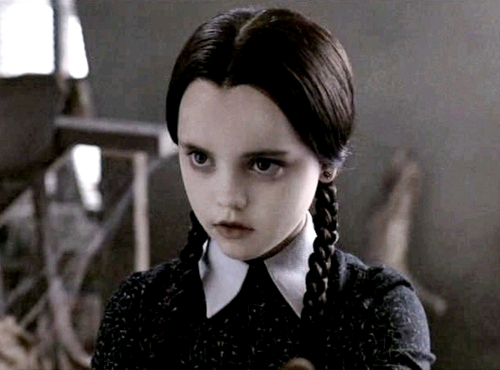 Wednesday Addams from