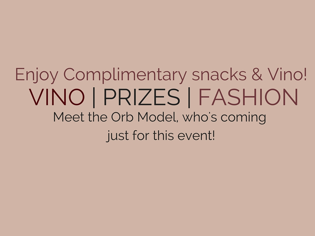 Enjoy Complimentary snacks & Vino!