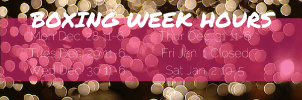 BOXING WEEK HOURS
