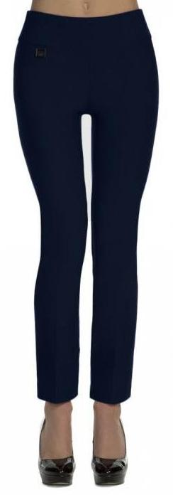 lisette 801 ankle pants navy front