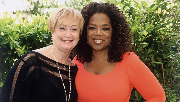 Oprah Winfrey & designer Lisette Limoges