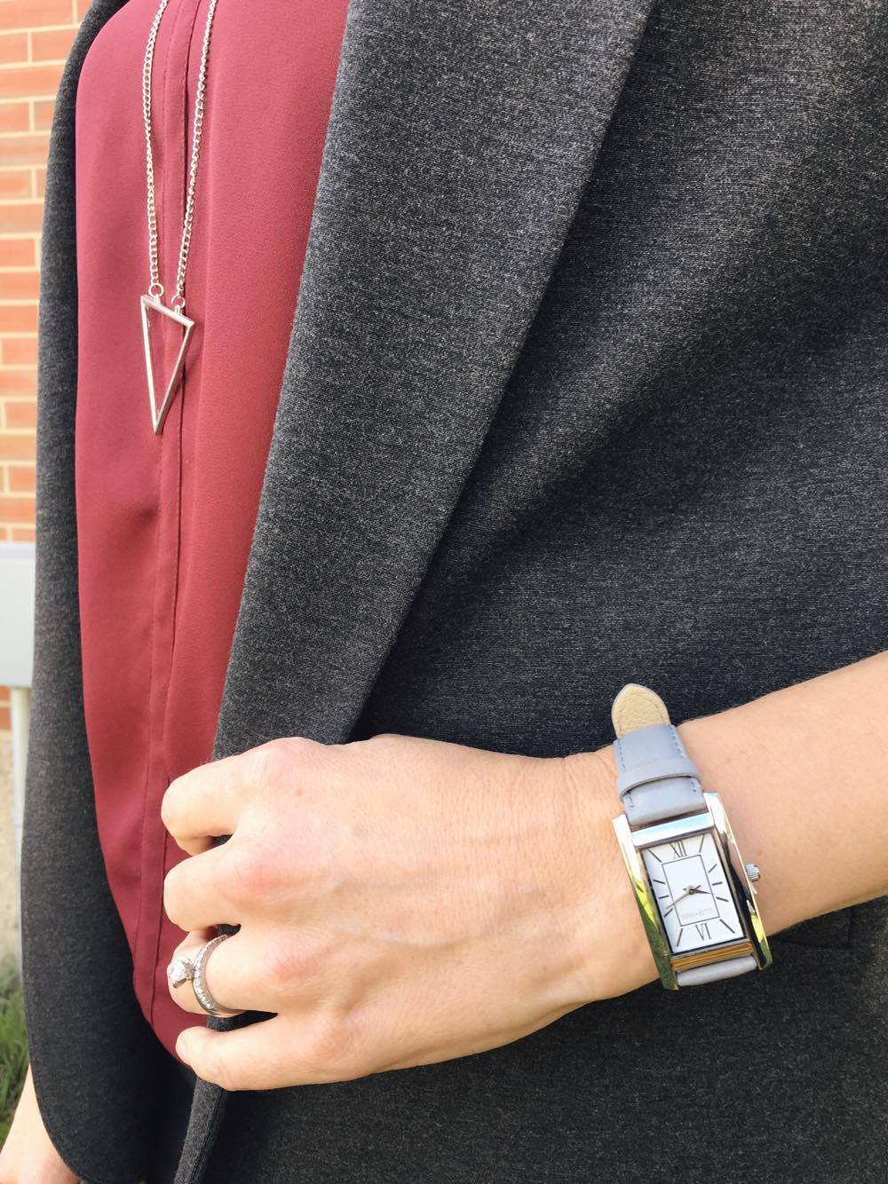 Don't forget your accessories to bring your outfit to the next level....like our Edmonton-based Berg + Betts watches (made from upcycled leather)!!