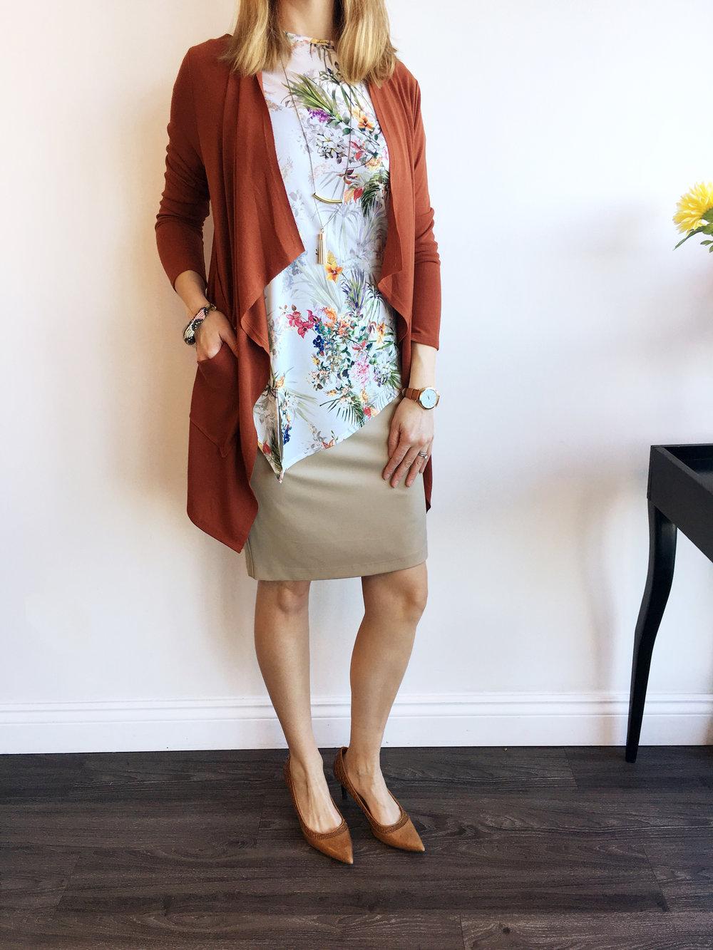 Lisette Top & Skirt
