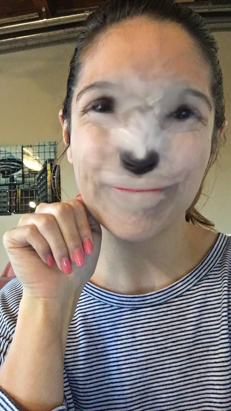 Me as a mini poodle
