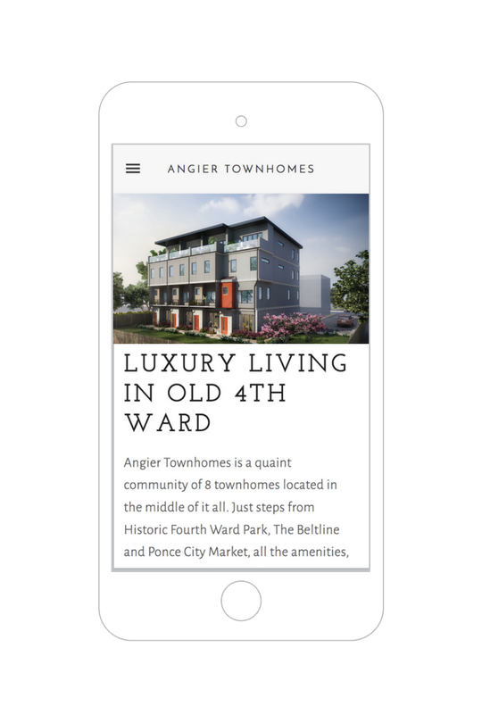 angier townhomes website atlanta real estate