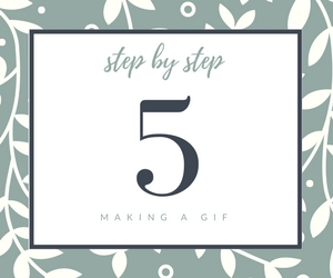 ...And Repeat - Continue this process until you have all of the steps you need for your blog post.