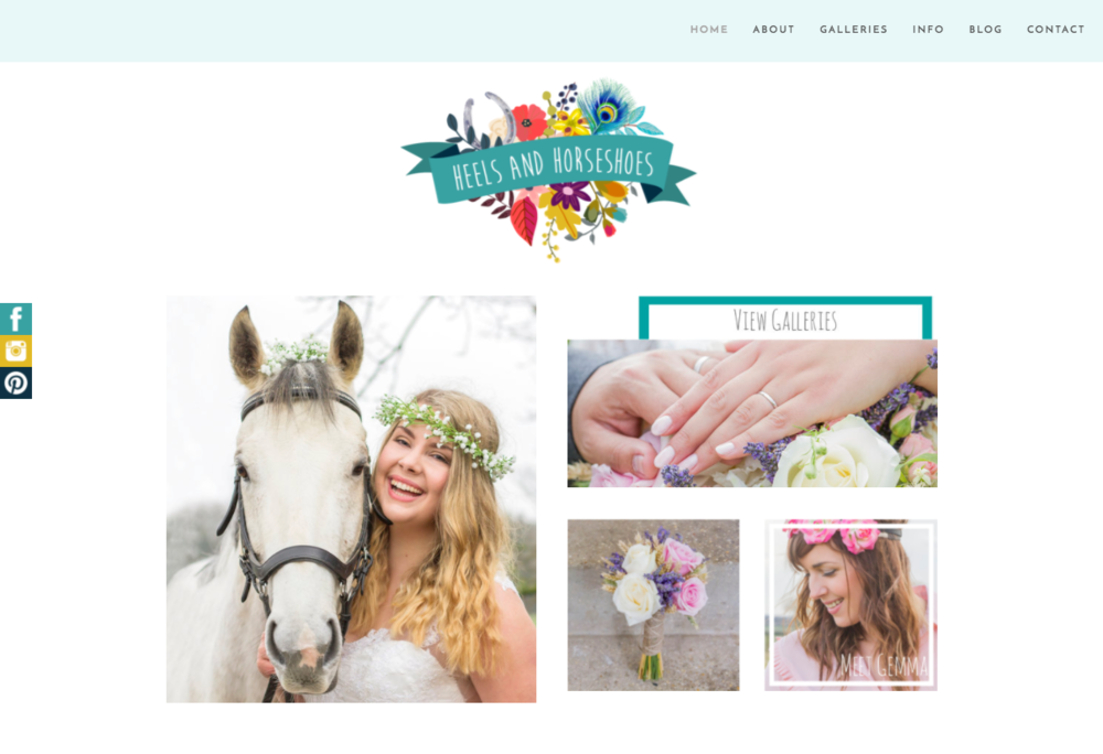 Heels & Horseshoes Homepage