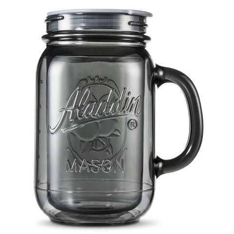 Aladdin Mason Jar with Coffee Lid