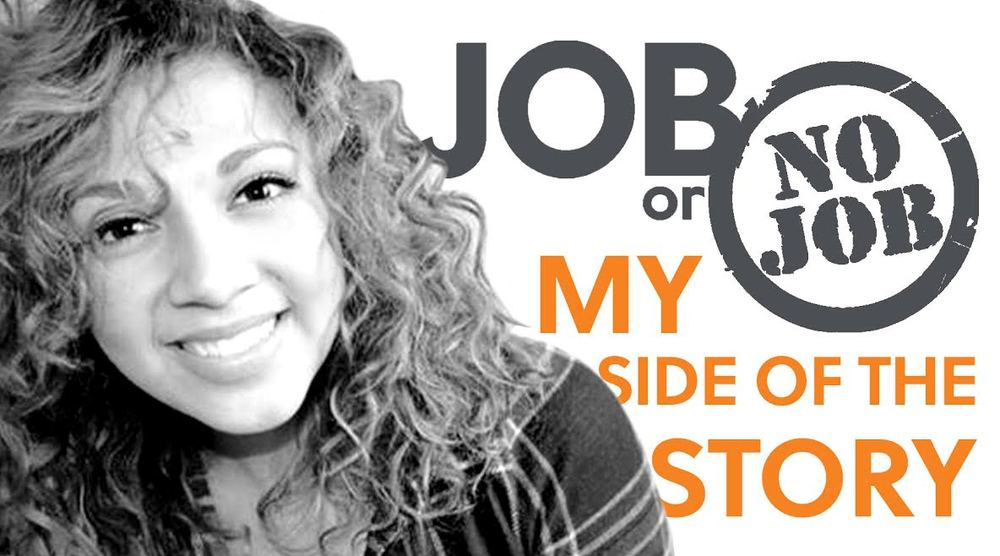 A few months ago, HZ Account Coordinator Christy Gutierrez was selected by  ABC Family  to star in the season finale of the brand-new reality show,  Job or No Job . The cameras have stopped rollin,  the episode  has aired, and now Christy's ready to dish the details on the whole experience.