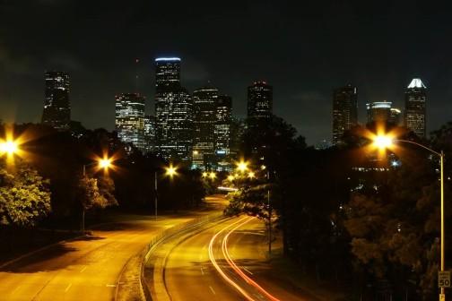 Houston from the bridge