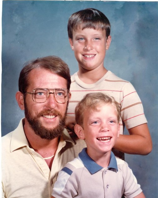 Tim in Denver showed us an early photo of him and the boys in his family, and explained that his father encouraged him to help others in need.
