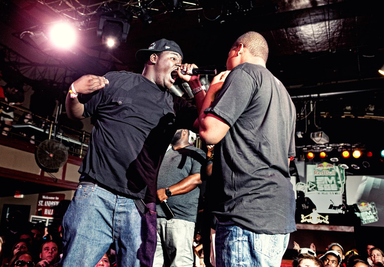 battle rappers