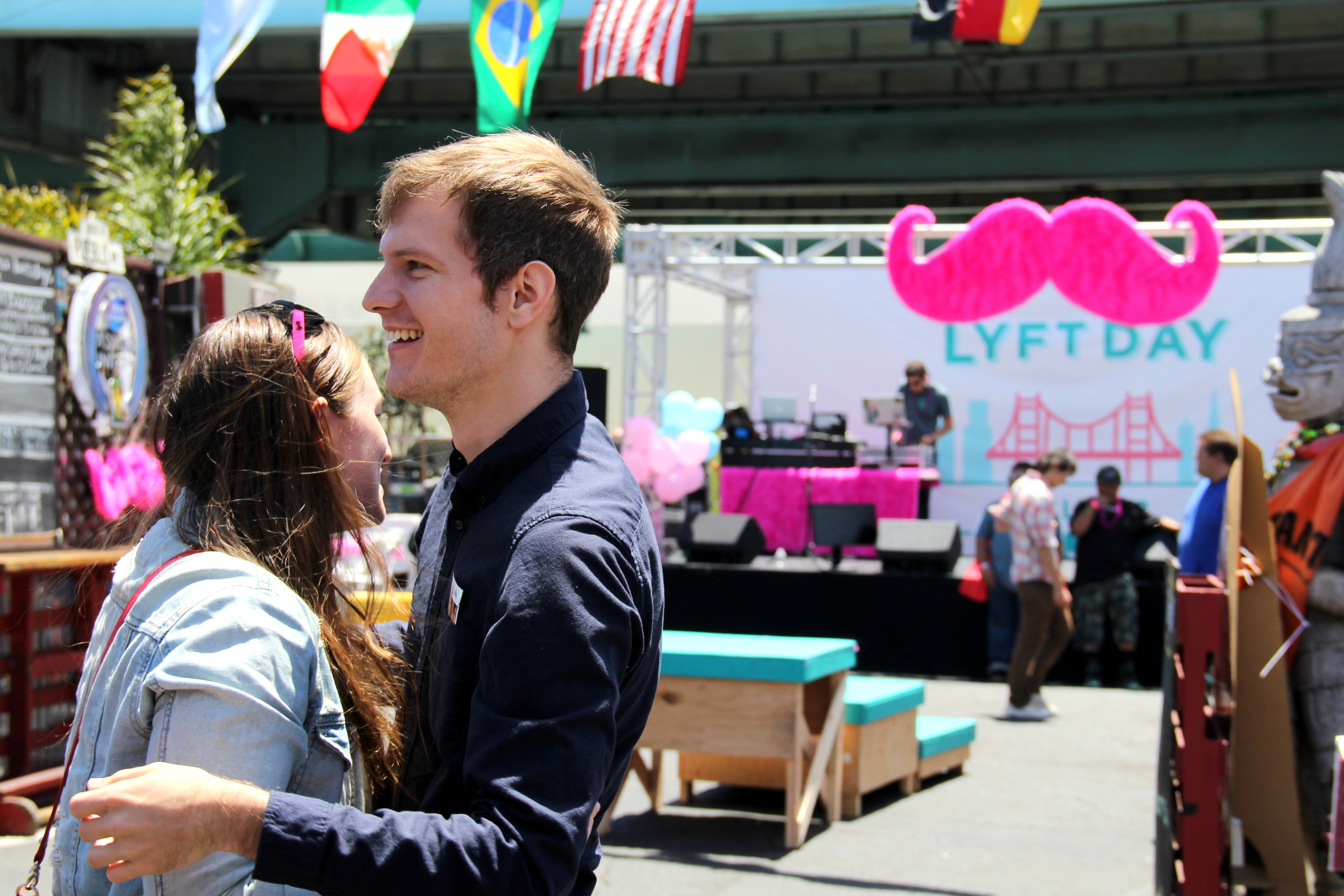 After the music ended and the crowds dispersed, there was still plenty of #LyftLove in the air.