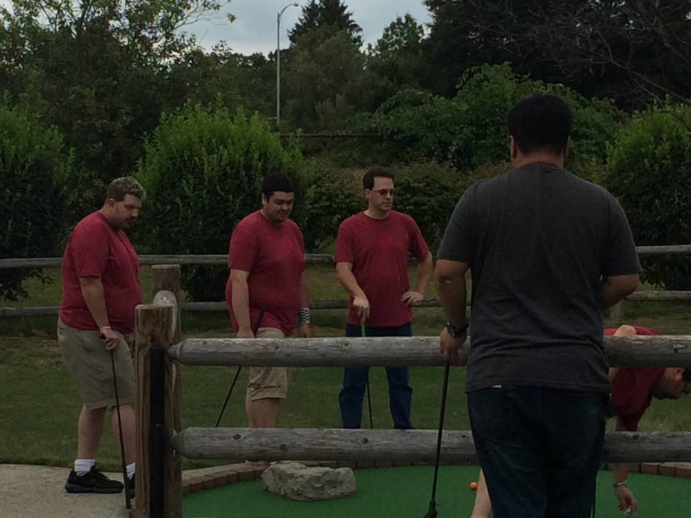 Mini golf is a serious game. Just ask these Houston drivers.