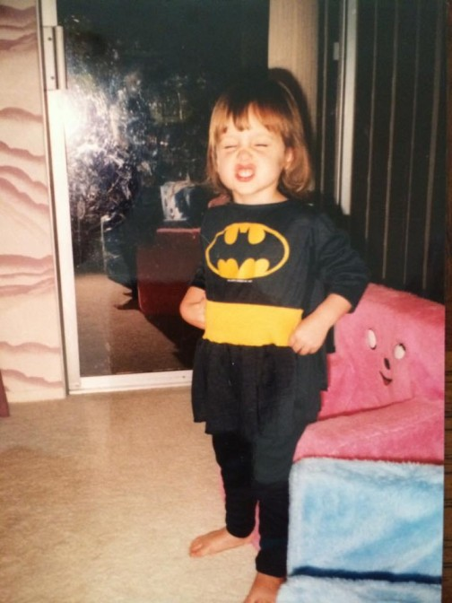 Did someone say BatLyft?! Kristin on Support was rocking the Batsuit long before Lyft even existed.
