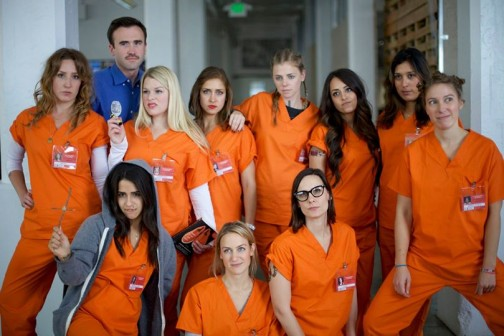 Also 2013, HQ-ers teamed up to represent Netflix series, Orange is the New Black.