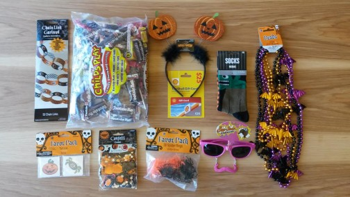 One lucky winner will receive these Halloween goodies by mail!