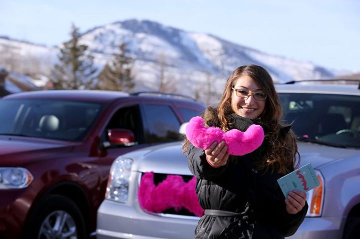 Santa's got Rudolph's red nose, but Lyft drivers have the cuddlestache.