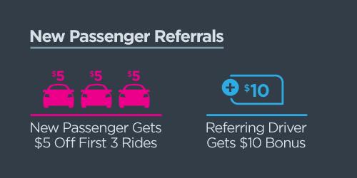 New Passenger Referrals