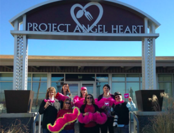 Project Angel Heart delivers over 1000 meals a week, and Denver drivers were excited to help.