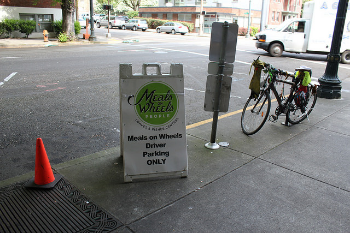 Thanks for volunteering, Portland drivers.