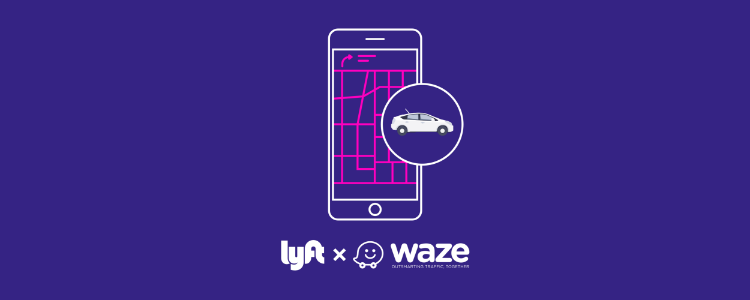 Lyft x Waze: Meet Your New Navigation Tool — The Hub