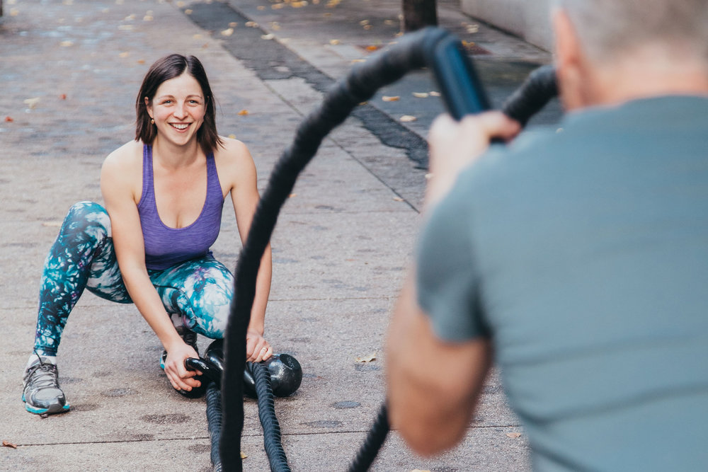 Personal Trainer in Yaletown and Battle Ropes