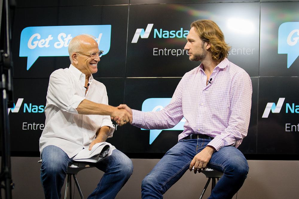 Gary Goldstein_Arnaud Collery_Stand Up for Passion_Nasdaq Entrepreneurial Center.jpg
