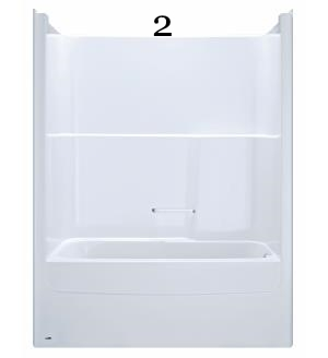 2 Bathcove ™ 5969KD two piece bathshower, right- hand drain (Standard White 0).jpg