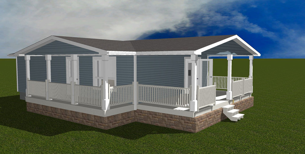 Built with quality, style and function in mind, Radec's factory-built homes come in an assortment of styles.