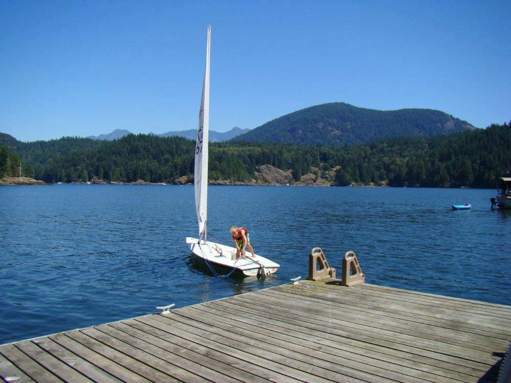 Summer Dock Gambier Island