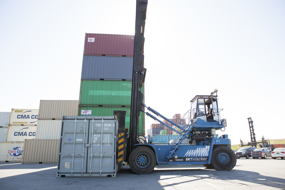 Delco Delta Container Handler
