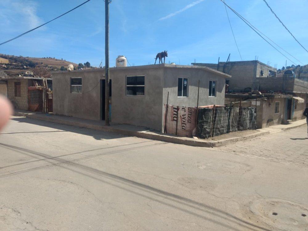 Tercera casa construida